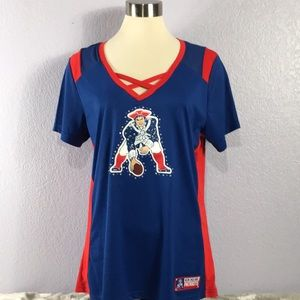 Majestic's New England Patriots bling jersey XL